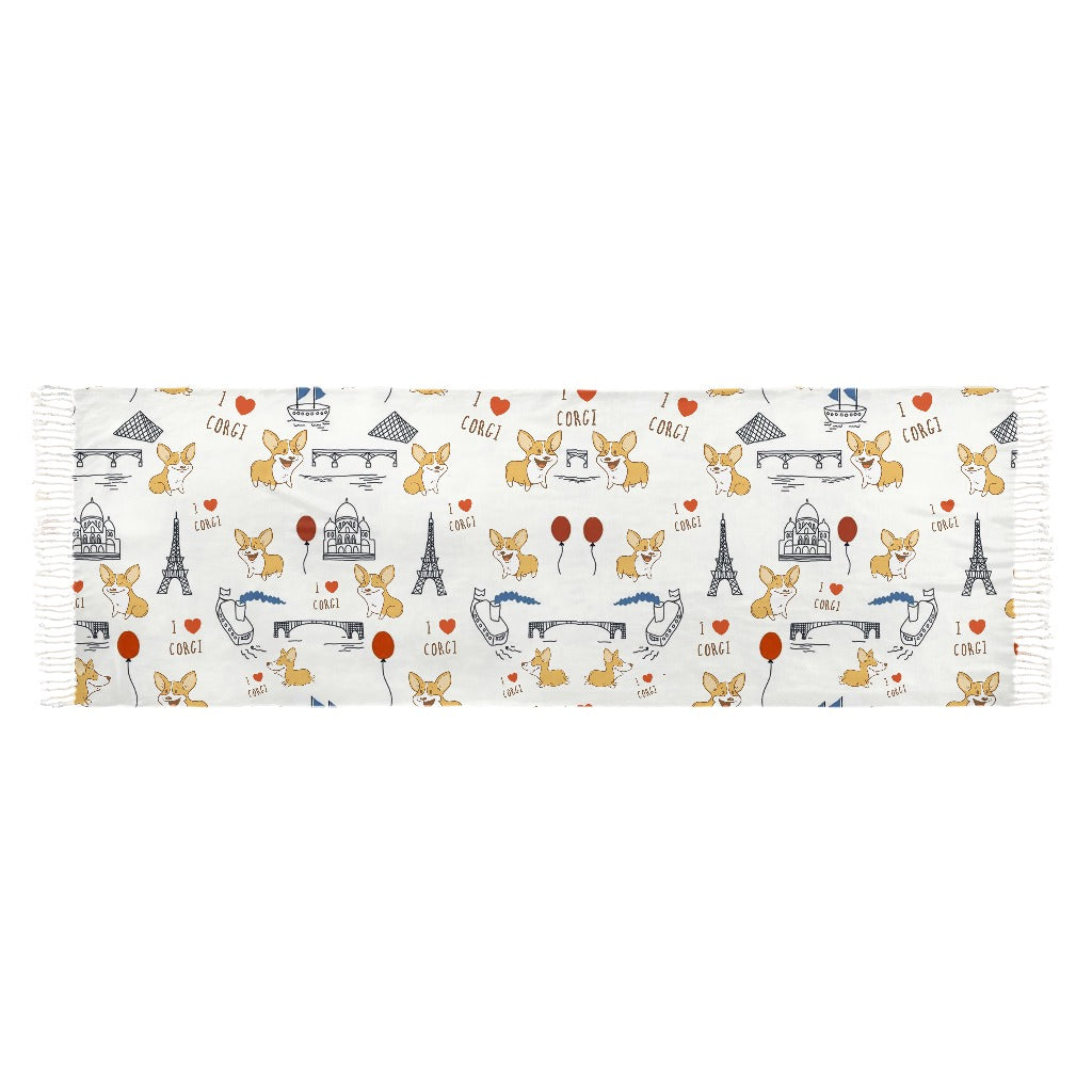 Corgi The World Wonders Scarves