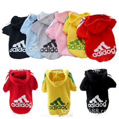 Puppy Pets Coats Soft Cotton Hoodie Sweater T-shirt Costumes