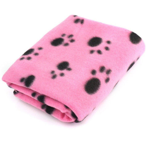 Soft Warm Fleece Pet Blanket Mat Puppy