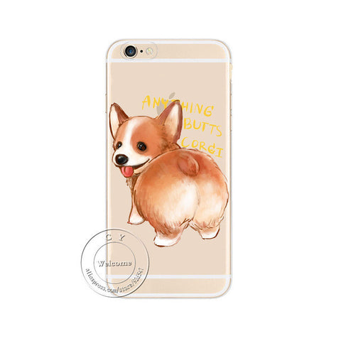 Image of Super Cute Corgi Case For Apple iPhone