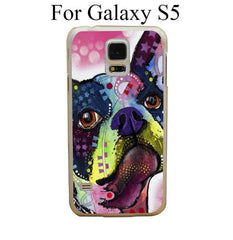 Boston Terrier Protective Cover Case for Samsung Galaxy