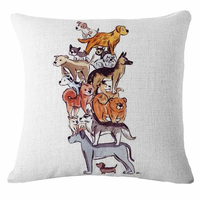 Cheap Cushion Cover For Home Sofa Pillow Case