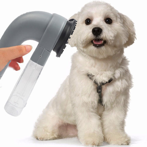 Pet Electric Vac Hair Remover Supply Grooming Clean