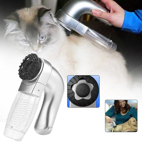 Image of Pet Electric Vac Hair Remover Supply Grooming Clean Tool