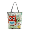 Image of 2017 Women Bag Casual Tote Owl Vintage