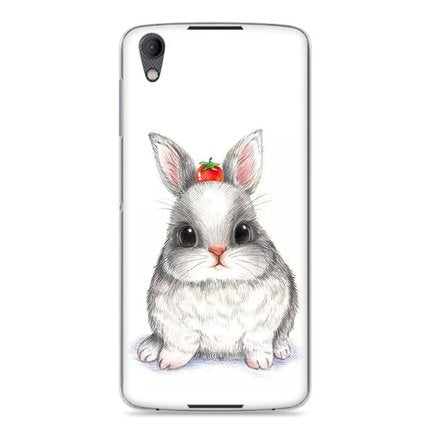 Purecolor Cat Cute painted Hard case for Blackberry DTEK50