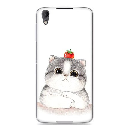 Image of Purecolor Cat Cute painted Hard case for Blackberry DTEK50
