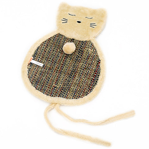 Image of Hoopet Cat Toy Pet Mat Double Sided Cat Cartoon Scratch Board Ball Toy Kitten Scratch Mat Interactive Toy Pet Training Pad