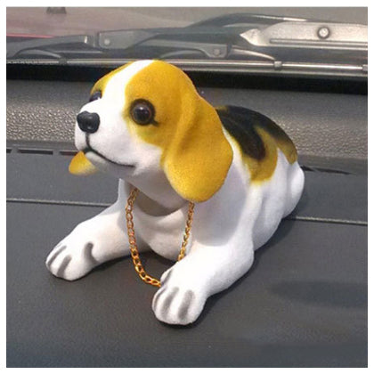 Bobble Head Dog Car Dashboard Doll Auto Shaking Head Toy