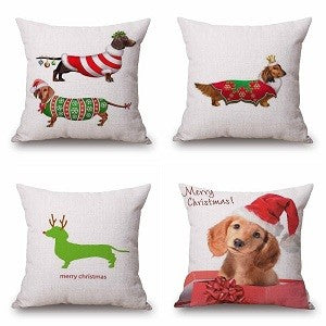 21 Style Dachshund Sausage Dogs Cushion Covers 45X45cm