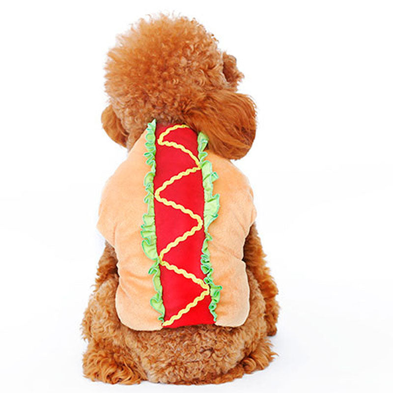 Funny Halloween pet Sausage costume clothes