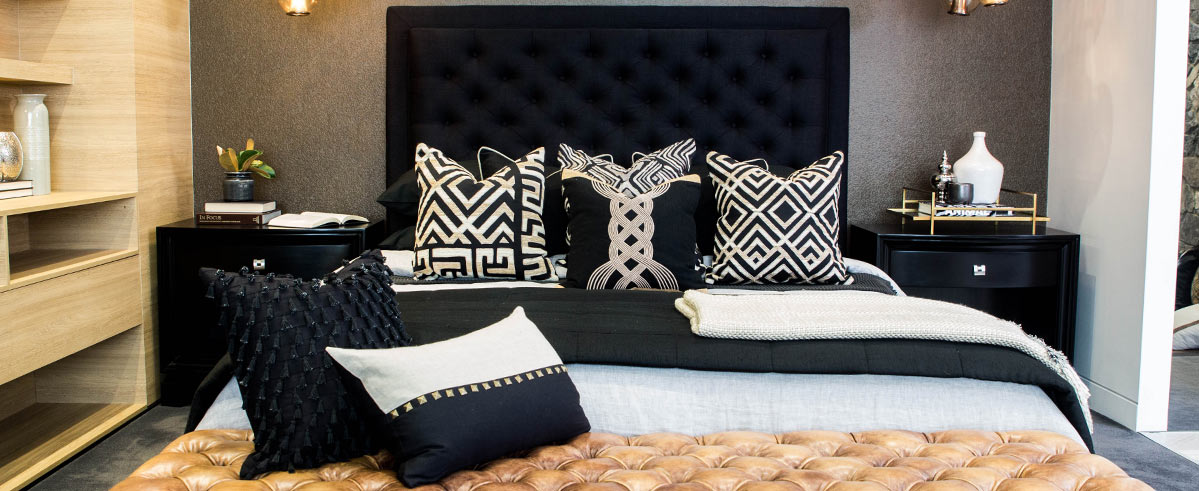 Interior Design African Style Room Black Beige