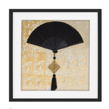 Bandhini Homewear Design Artwork Black / Primitive / 52 x 52 Fan Tassel Black Artwork 52 x 52 cm