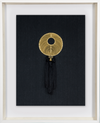 Bandhini Homewear Design Artwork Black / Primitive / 67 x 85 Tassel Gold On Black Artwork 67 x 85 cm