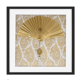 Bandhini Homewear Design Artwork Gold / Primitive / 52 x 52 Fan Tassel Gold Artwork 52 x 52 cm