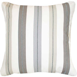 Bandhini Homewear Design Euro Cushion Natural White / 25 x 25 Ticking Stripe Windsor Natural Euro Cushion 65 x 65cm