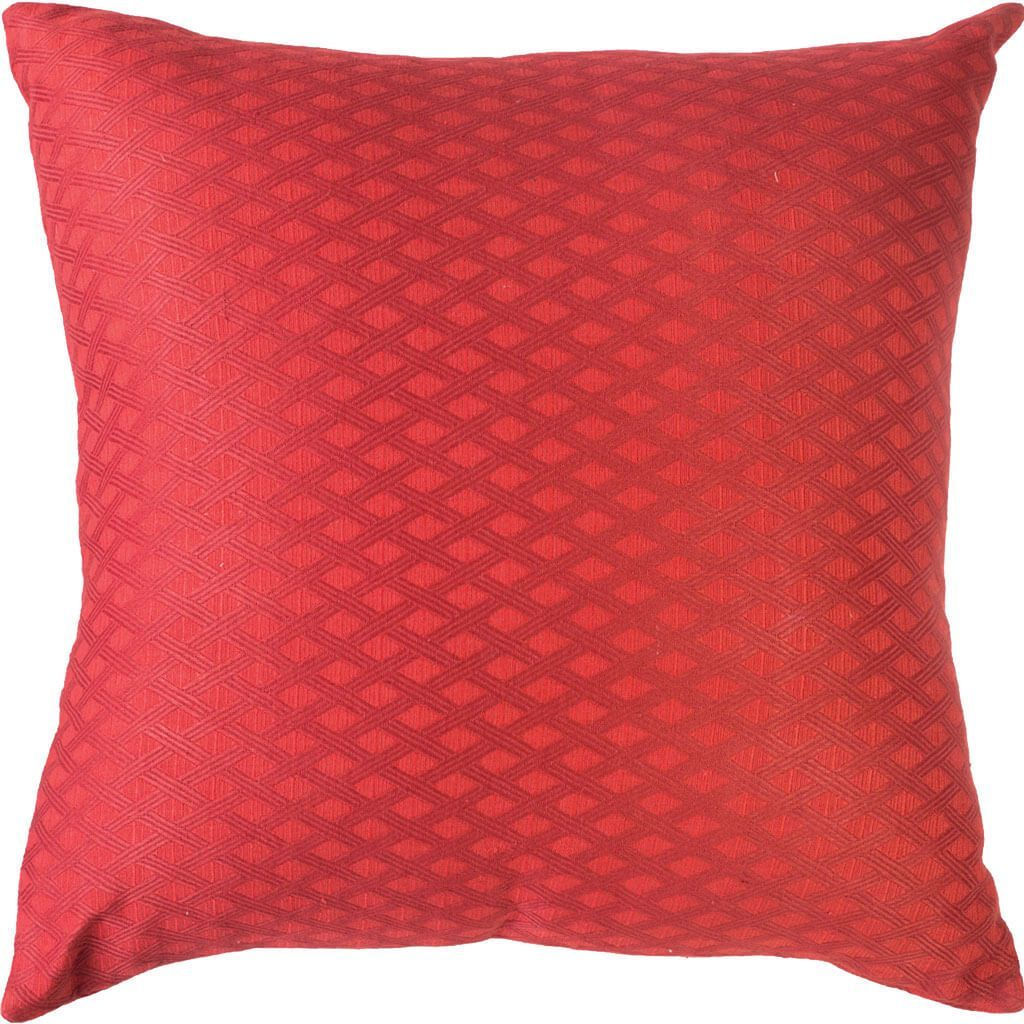 Bandhini Homewear Design Euro Cushion Red / Aztec Fire / 25 x 25 Prism Red Euro Cushion 65 x 65 cm