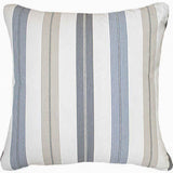 Bandhini Homewear Design Euro Cushion Ticking Stripe Windsor Navy Euro Cushion 65 x 65cm