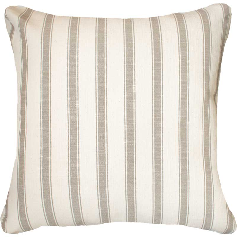 Bandhini Homewear Design Euro Cushion Ticking Stripe York Natural Euro Cushion 65 x 65cm