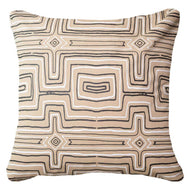 Bandhini Homewear Design Lounge Cushion Beige / Outdoor / 22 x 22 Outdoor Dreamtime Beige Lounge Cushion 55 x 55 cm