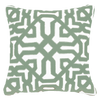 Bandhini Homewear Design Lounge Cushion Beige / Outdoor / 22 x 22 Outdoor Moroccan Green Lounge Cushion 55 x 55 cm