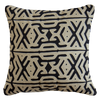 Bandhini Homewear Design Lounge Cushion Natural / 22 x 22 Arrow Applique Lounge Cushion 55 x 55 cm