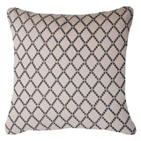 Intermeshed Black Lounge Cushion