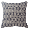 Bandhini Homewear Design Lounge Cushion Navy / Naval Sea / 22 x 22 Kamari Black and Beige Lounge Cushion 55x55cm