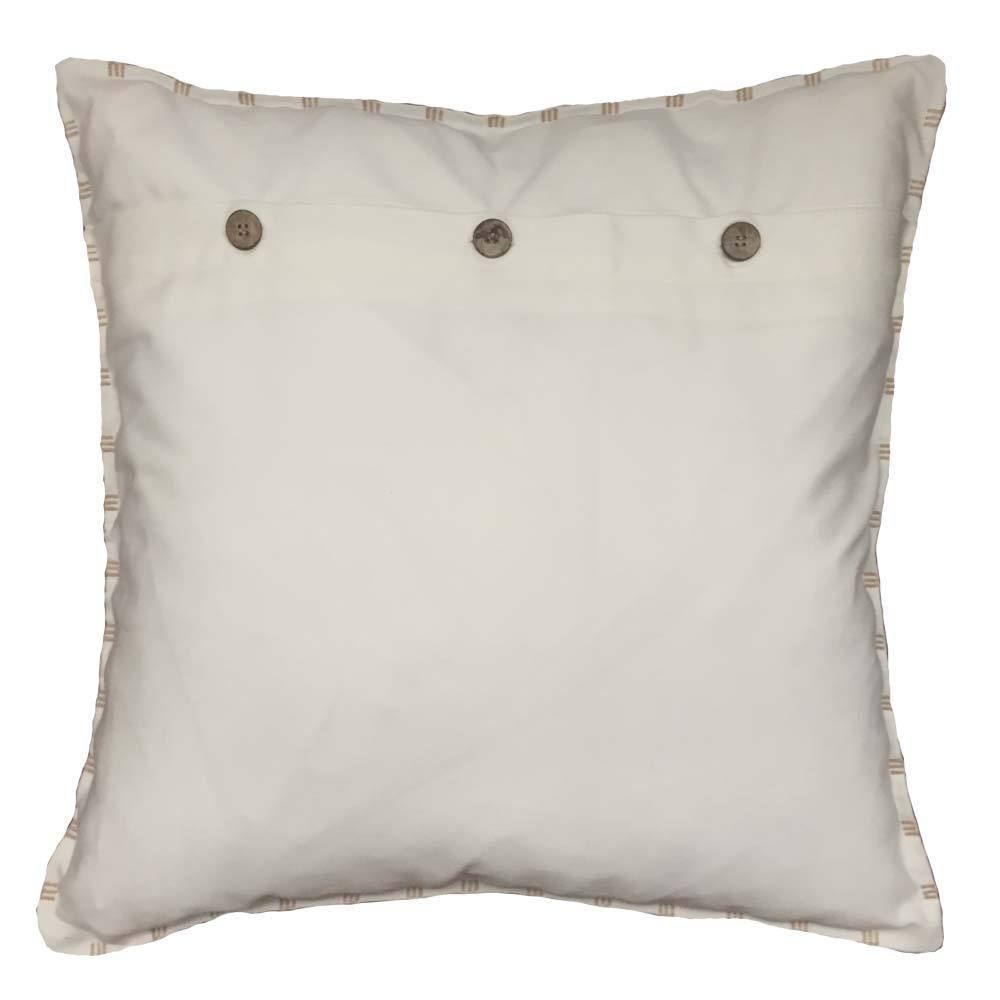 Bandhini Homewear Design Lounge Cushion Cloud / 22 x 22 Outdoor Cotton Reverse Cloud White Lounge Cushion 55 x 55 cm