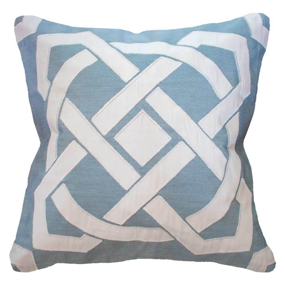 Bandhini Homewear Design Lounge Cushion Cloud / 22 x 22 Outdoor Dial Cloud Blue Lounge Cushion 55 x 55 cm
