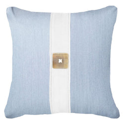 Bandhini Homewear Design Lounge Cushion Cloud / 22 x 22 Outdoor Horn Button Cloud Lounge Cushion 55 x 55cm