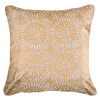 Bandhini Homewear Design Lounge Cushion Gold / Exotic Light / 18 x 18 Sphere Print Gold Lounge Cushion 50 x 50 cm