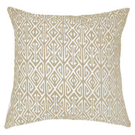 Bandhini Homewear Design Lounge Cushion Gold / 22 x 22 Arrow Print Natural Lounge Cushion 55x55cm