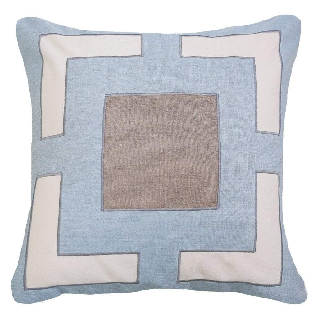 Bandhini Homewear Design Lounge Cushion Green / Outdoor / 22 x 22 Outdoor Panel Cloud Lounge Cushion 55 x 55 cm