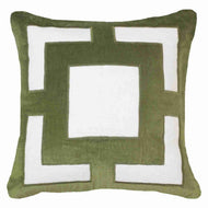Bandhini Homewear Design Lounge Cushion Green / 22 x 22 Panel Emerald Lounge cushion 55 x 55 cm