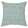 Bandhini Homewear Design Lounge Cushion Green / 55 x 55 cm Arrow Print Green Lounge Cushion 55 x 55 cm