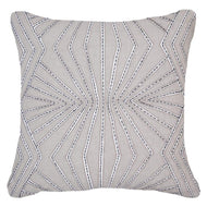 Bandhini Homewear Design Lounge Cushion Natural / 22 x 22 Fan Natural Lounge Cushion 55 x 55 cm