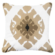 Bandhini Homewear Design Lounge Cushion Natural / Surf Tribe / 22 x 22 Inner Ikat Natural Lounge Cushion 55x55cm