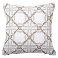 Intertwined Natural Lounge Cushion 55x55cm