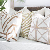 Bandhini Homewear Design Lounge Cushion Natural / 22 x 22 Parasol Natural Lounge Cushion 55 x 55 cm
