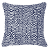 Bandhini Homewear Design Lounge Cushion Navy / Naval Sea / 22 x 22 Arrow Print Navy Lounge Cushion 55x55cm
