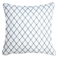 Intermeshed Navy Lounge Cushion 55x55cm