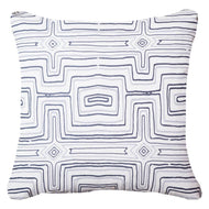 Bandhini Homewear Design Lounge Cushion Navy / Outdoor / 22 x 22 Outdoor Dreamtime Navy Lounge Cushion 55 x 55 cm