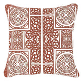 Bandhini Homewear Design Lounge Cushion Orange / Aztec Fire / 22 x 22 Madrid Orange Lounge Cushion 55x55cm