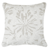 Bandhini Homewear Design Lounge Cushion Sea / Surf Tribe / 22 x 22 Butterfly Natural Lounge Cushion  55x55cm