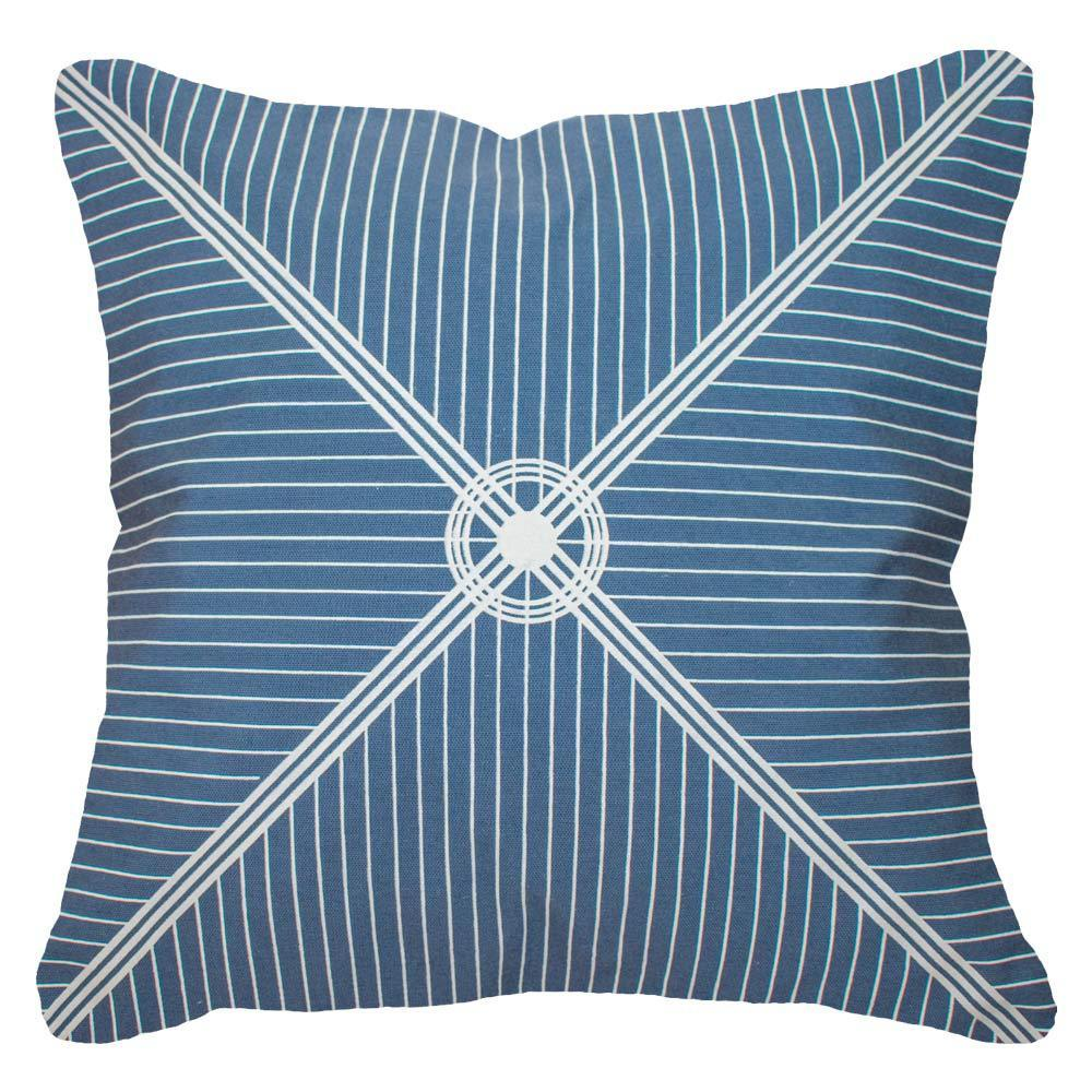 Bandhini Homewear Design Lounge Cushion Storm / 22 x 22 Outdoor Compass Storm Lounge Cushion 55 x 55 cm