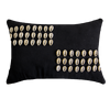 Bandhini Homewear Design Lumber Cushion Black / 35 x 53 Shell Kauri Black Lumber Cushion 35 x 53 cm
