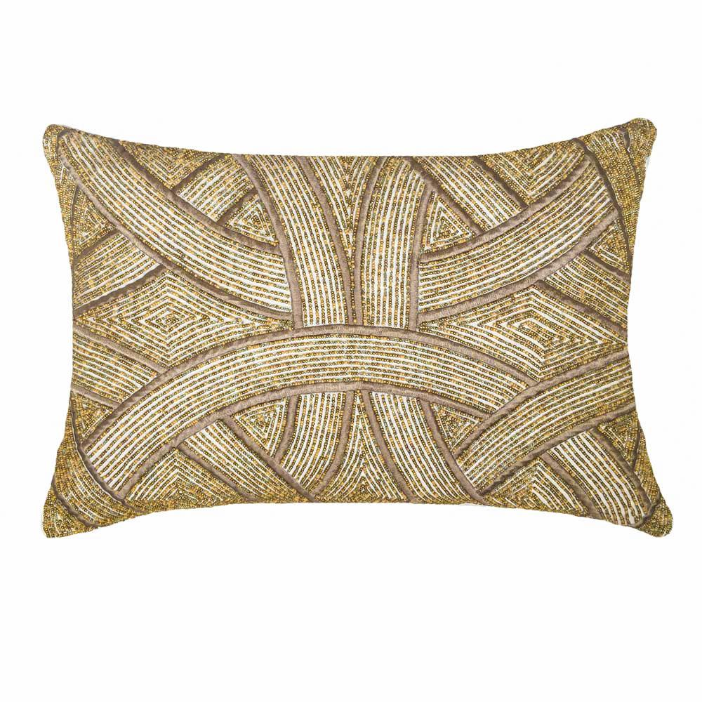 Bandhini Homewear Design Lumber Cushion Natural / 14 x 21 Chanel Natural Lumber Cushion 35 x 53cm