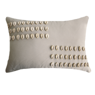 Bandhini Homewear Design Lumber Cushion Natural / 35 x 53 Shell Kauri Natural Lumber Cushion 35 x 53 cm