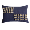 Bandhini Homewear Design Lumber Cushion Navy / 35 x 53 Shell Kauri Navy Lumber Cushion 35 x 53 cm